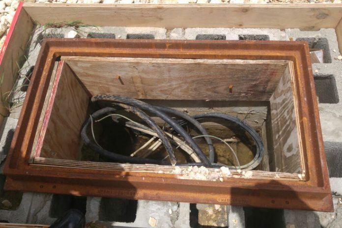 Antigua: Dredge Bay housing project gets underground wiring ... on underground wire in shorts, underground transmission, underground generator,
