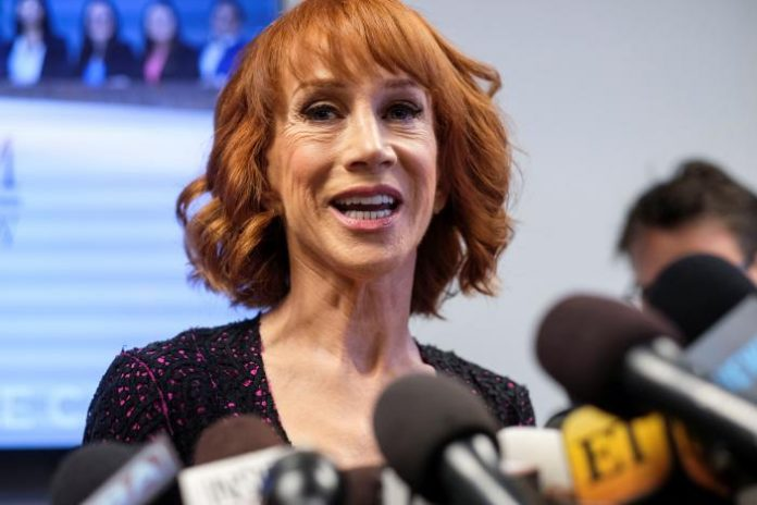 Kathy Griffin Claimed Trump is 'Trying to Ruin My Life'