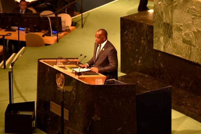 Dominica PM issues passionate call for urgent action in addressing climate change