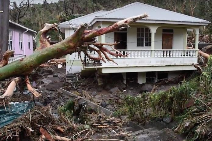 hurricane maria destruction sep 22 dominica