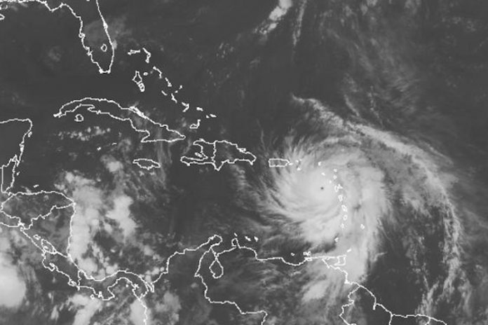 Hurricane Maria Is Now a Category 5 Storm