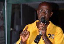 Nazim Burke, NDC Grenada leader