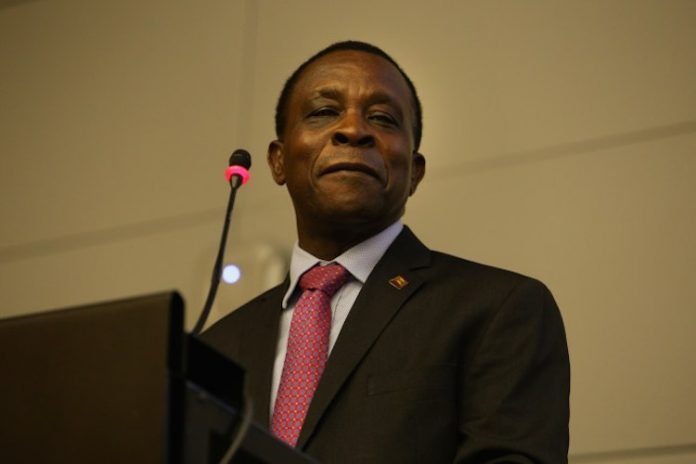 Keith Mitchell, prime minister of Grenada.