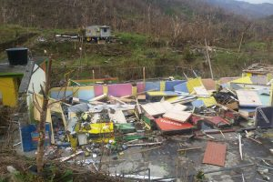 dominica damage TO SCHOOL OCTOBER