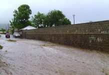 Flooding in St Kitts-Nevis