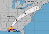 hurricane nate landfall