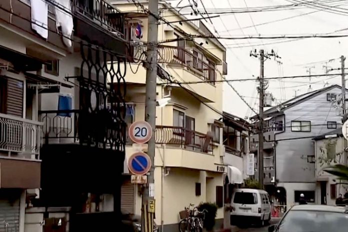 Osaka woman arrested after 4 corpses of newborns found encased in concrete