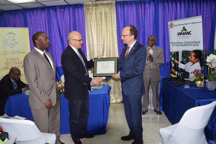 Caribbean Public Health Agency gets lab testing
