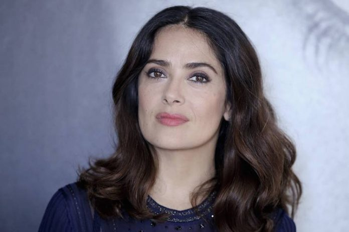 Harvey Weinstein: Salma Hayek wasn't pushed into sex scene