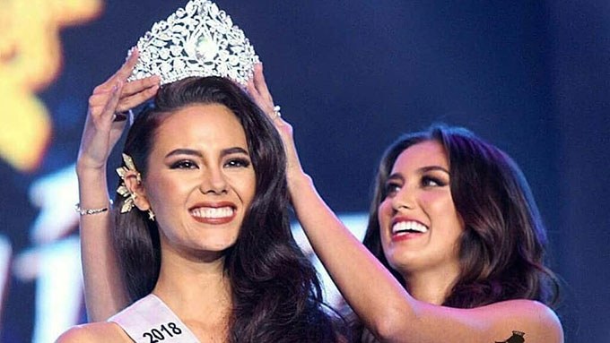 2185797a852c Catriona Elisa Gray from the Philippines was crowned Miss Universe ...