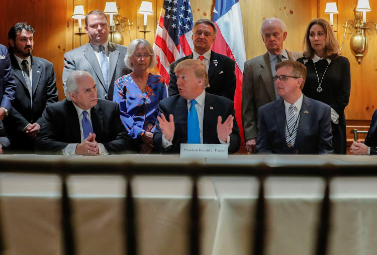 Trump Round Table.Trump Round Table Meeting Wic News