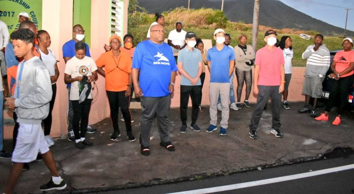 Taking a step further to encourage people to adopt a healthy lifestyle, St Kitts and Nevis Prime Minister Dr Timothy Harris led a health-conscious walk under the auspices of Monthly Health Walk and SKN Moves.
