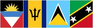 Antigua and Barbuda, Barbados, St Lucia and St Kitts and Nevis